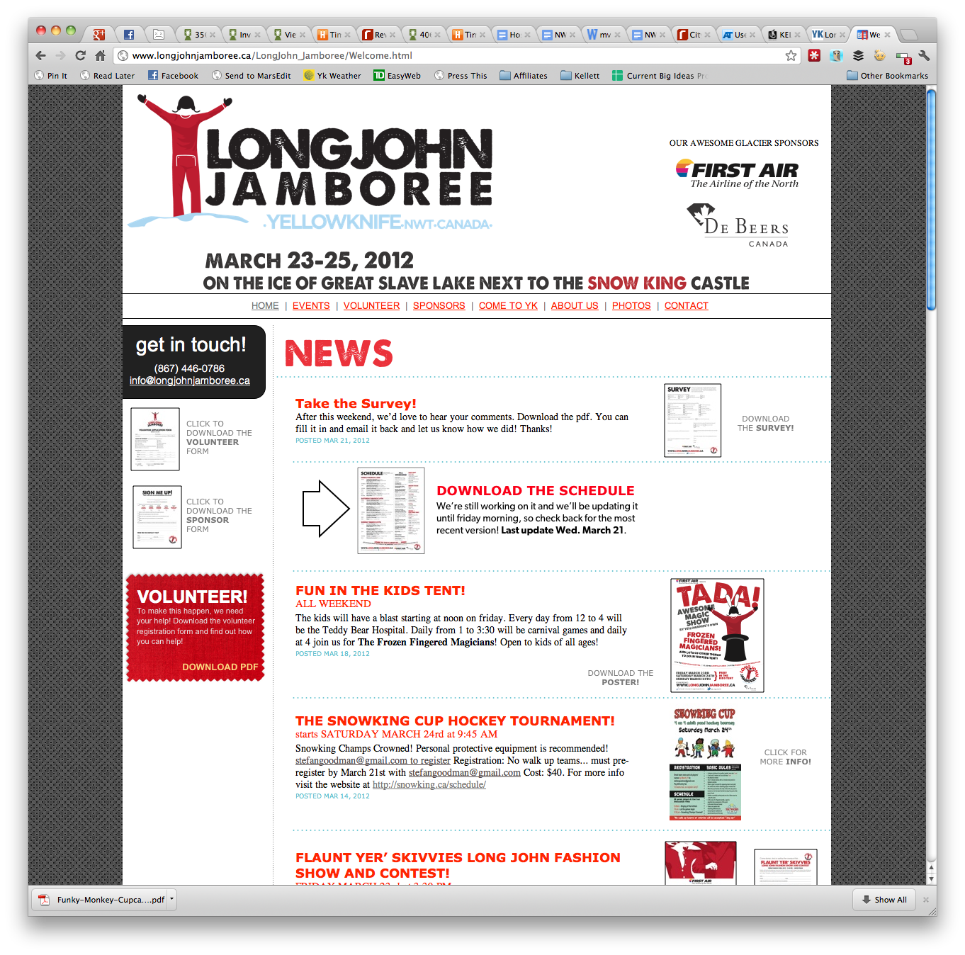 Long John Jamboree Website