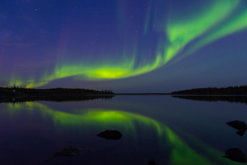 Yellowknife Is The Best Location In The World For Viewing The Aurora  Borealis. Yeah, Iu0027ll Make That Claim. We Are. As Nights Grow Longer, The  Green, ...