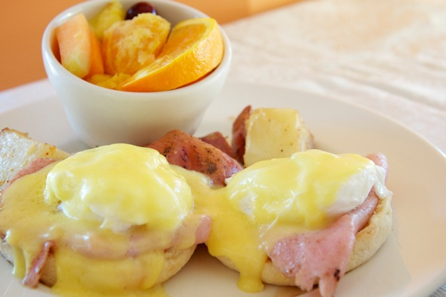 Dancing Moose Cafe Eggs Benedict