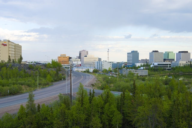 Yellowknife Downtown 2013