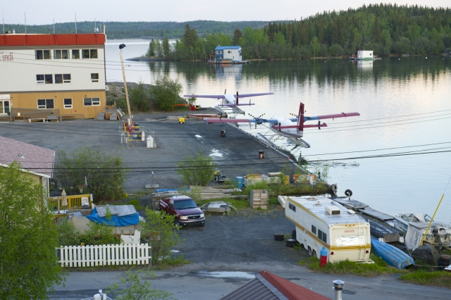 Yellowknife Old Town Float Planes
