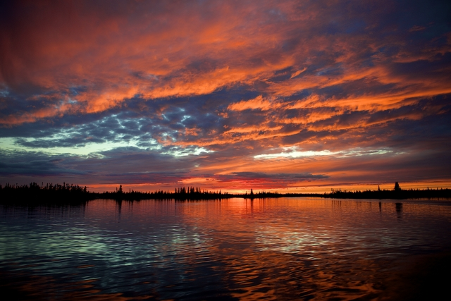 Yellowknife Sunset