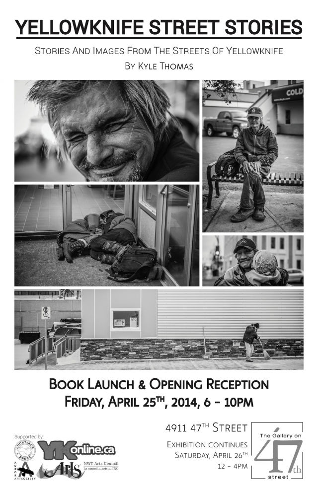 Yellowknife Street Stories Book Launch - Opening Reception @ Gallery on 47th | Yellowknife | Northwest Territories | Canada