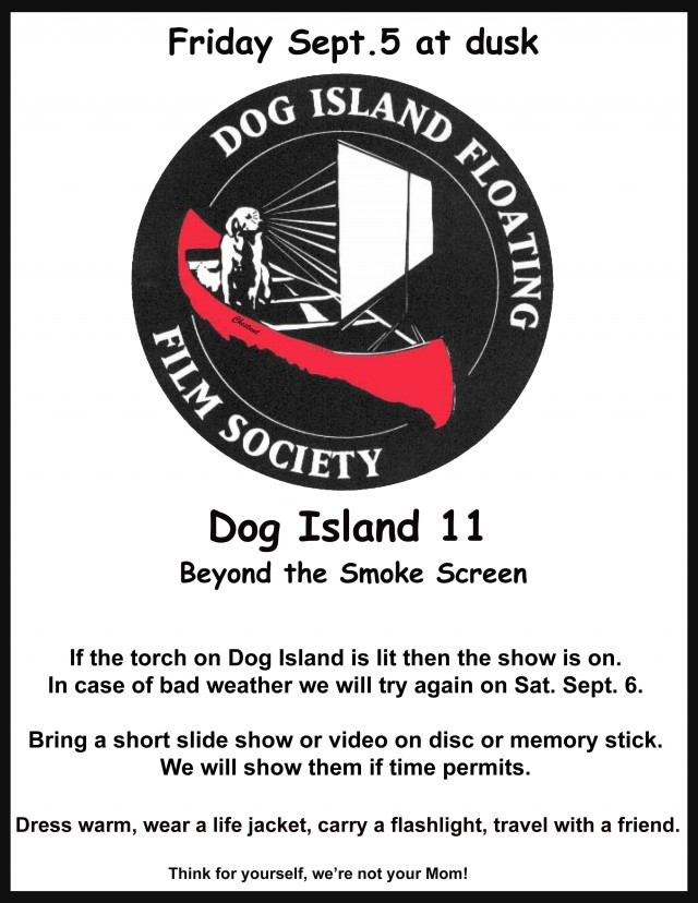 Dog Island Floating Film Fest @ Dog Island