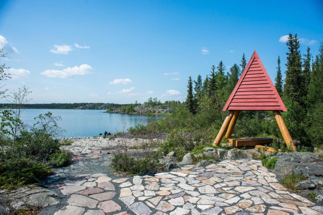 Outdoor Lunch Locations in Yellowknife