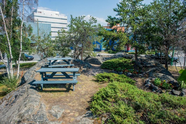 Yellowknife Outdoor Lunch Locations