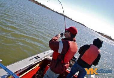 fishing in Yellowknife