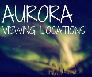 Yellowknife Aurora Viewing Locations