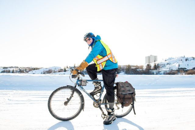 Winter Biking in Yellowknife