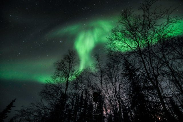 Yellowknife Aurora Borealis November