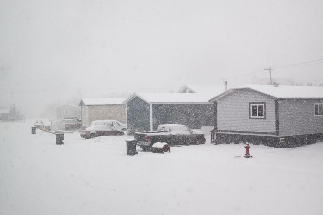 Yellowknife Weather Snow