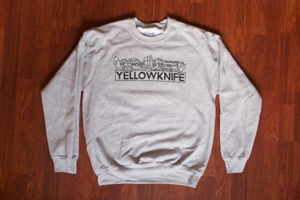 Yellowknife Crewneck Sweater Grey
