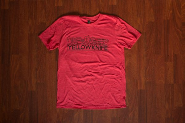 Yellowknife T-Shirt Red