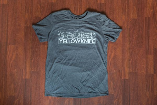 Yellowknife T-Shirt Grey
