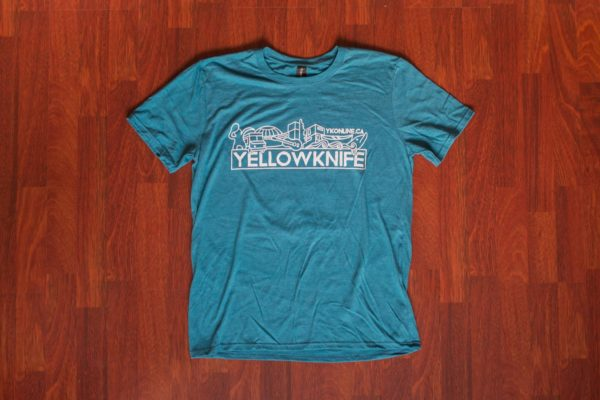 Yellowknife T-Shirt Blue