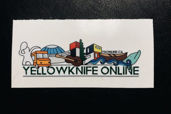 Yellowknife Online Sticker