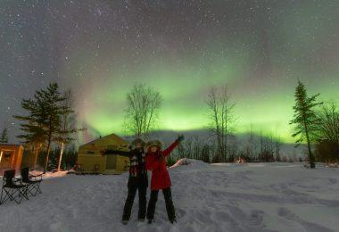 Aurora Cabin by Valerie Pond