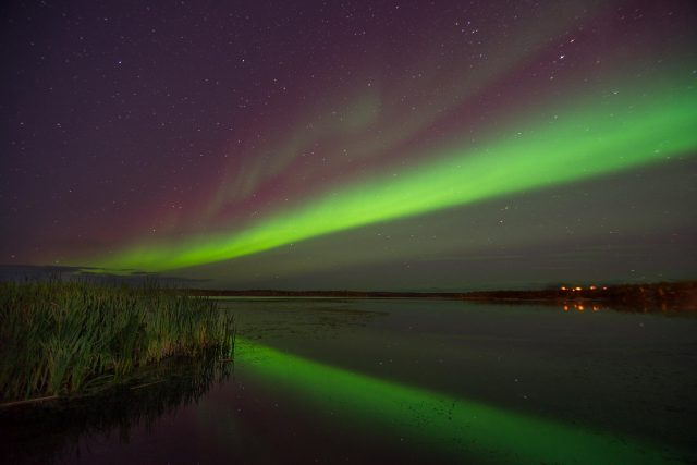 Yellowknife Aurora September